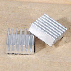 Image 4 - VODOOL 30Pcs דבק פטל Pi 3 צלעות קירור למעבד טהור אלומיניום חום כיור סט ערכת רדיאטור 2 Pi קירור פטל עמיד