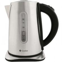 Чайник электрический GEMLUX GL-EK-777S (мощность 2200 Вт, объем 1,7 л, корпус из нержавеющей стали, функция установки и поддержания температуры)