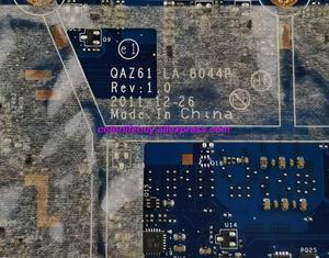 Image 5 - Echtes 672351 001 QAZ61 LA 8044P w I3 2367M CPU Laptop Motherboard Mainboard für HP FOLIO 13 13 1000 Serie notebook PC