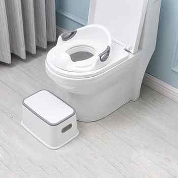 Kids Toilet Training Seat Step Stools Children Bathroom