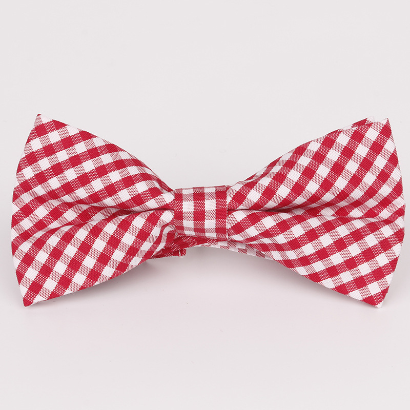 Apparel Accessories Boy's Tie 2019 New Spot Childrens Bow Tie Cotton Cotton Small Plaid Children Show Photo Shirt With Baby Bow Tie Flower
