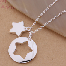925-Sterling-Silver Necklace Pendant Fashion Jewelry An277 Jigsaw-Puzzle The Arbajiia