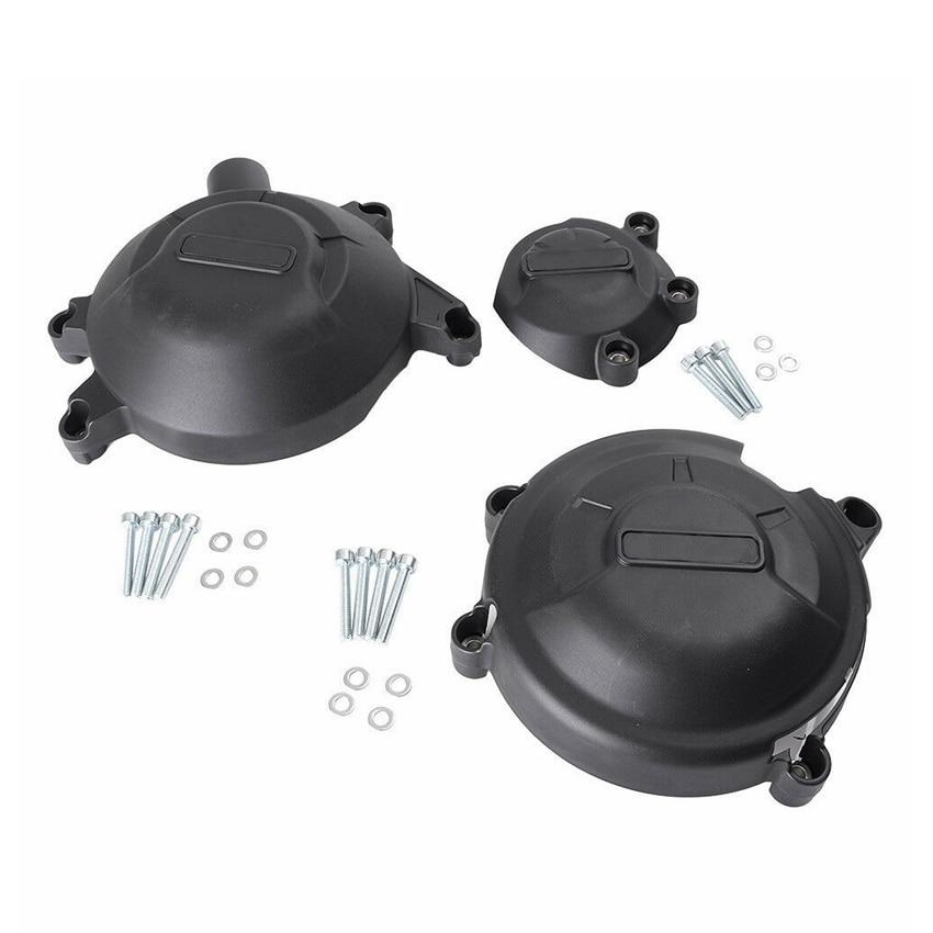 Pour Honda CBR500 CBR 500 2013 moto moteur Stator carter de manivelle housse Crash Pad curseur protecteur Set noir