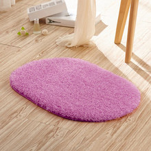 Absorbent Non-slip Antiskid Soft Memory Plush Shower Mat Bath Bathroom Floor Foam Rug DIY Living Room Bedroom Blue Pink Green(China)