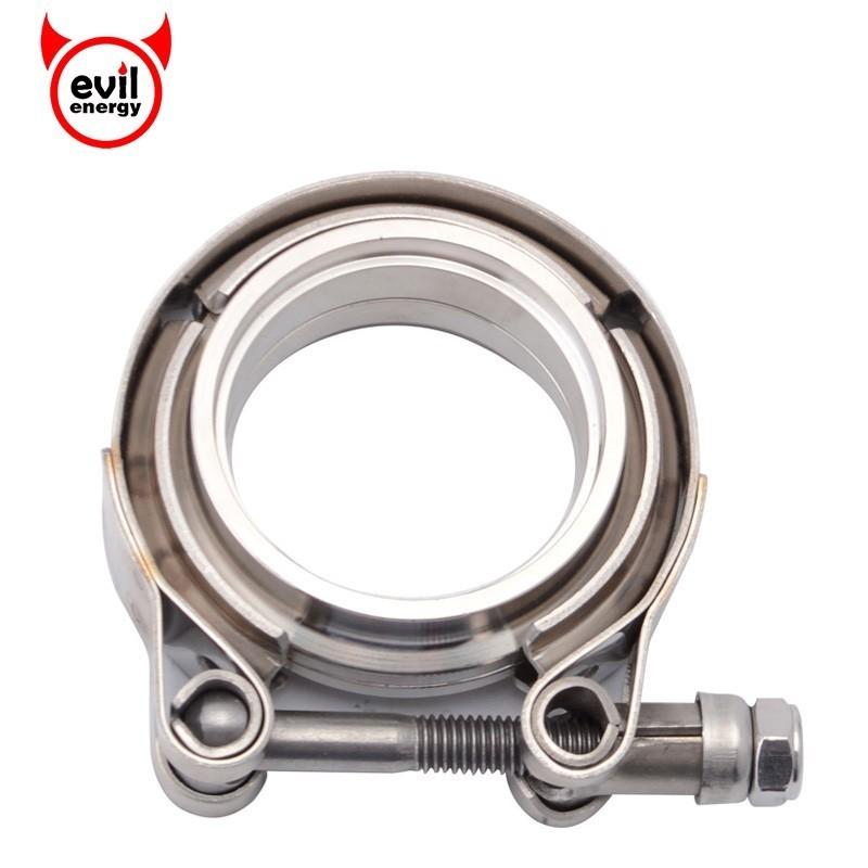 evil energy Car Exhaust System 2 Inch V Band Clamp ...