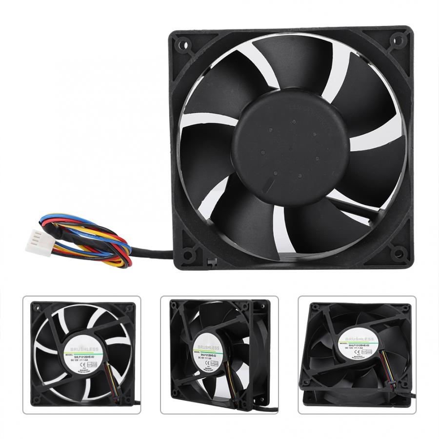 US $10 06 31% OFF|SHLF1212BHE 02 DC12V 1 6A 12CM Temperature Control PWM  Fan Cooling Cooler For DELL Precision 390 workstation CPU Cooling-in Fans &