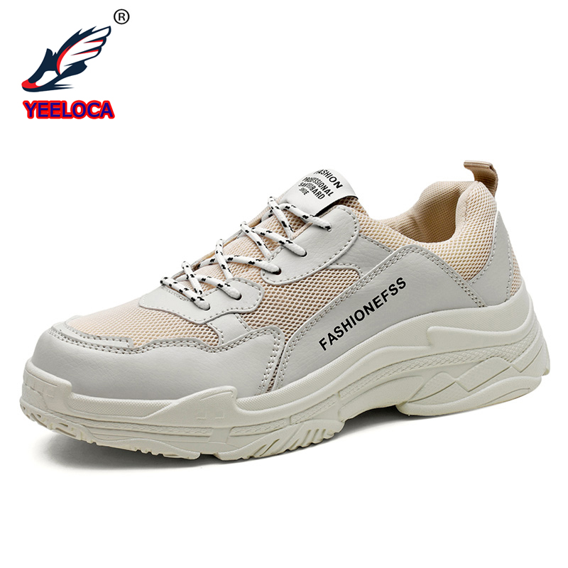YEELOCA Mens Sneakers Mesh Breathable Casual Shoes Lightweight Sneakers Comfortable Outdoors Casual Men 39 s Shoes Size 38 45 in Men 39 s Casual Shoes from Shoes