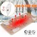 220 В 45 Вт электрическое одеяло 1 5x0 7 м регулируемый термостат электрическое нагревательное одеяло кошачий обогреватель для собак коврик под...