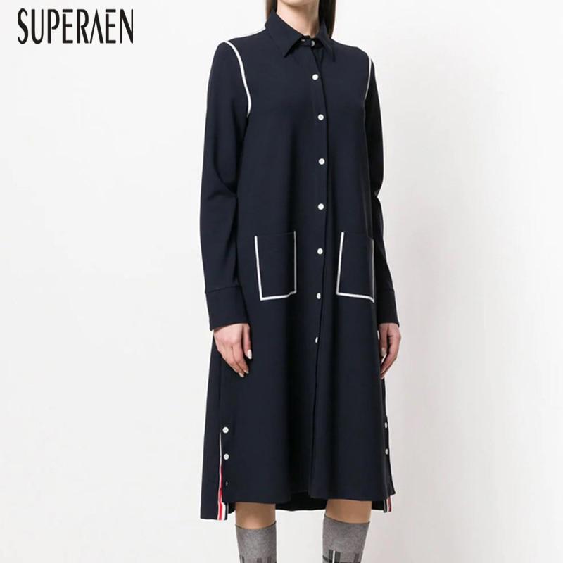 848b1c0fed SuperAen-2019-robe-femme-nouveau-printemps-et-automne-nouvelle-mode-femmes -robe-manches-longues-coton-sauvage.jpg