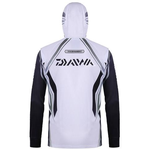 absorcao de umidade longa camisa da pesca dawa