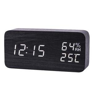 Modern Led Alarm Clock Tempera
