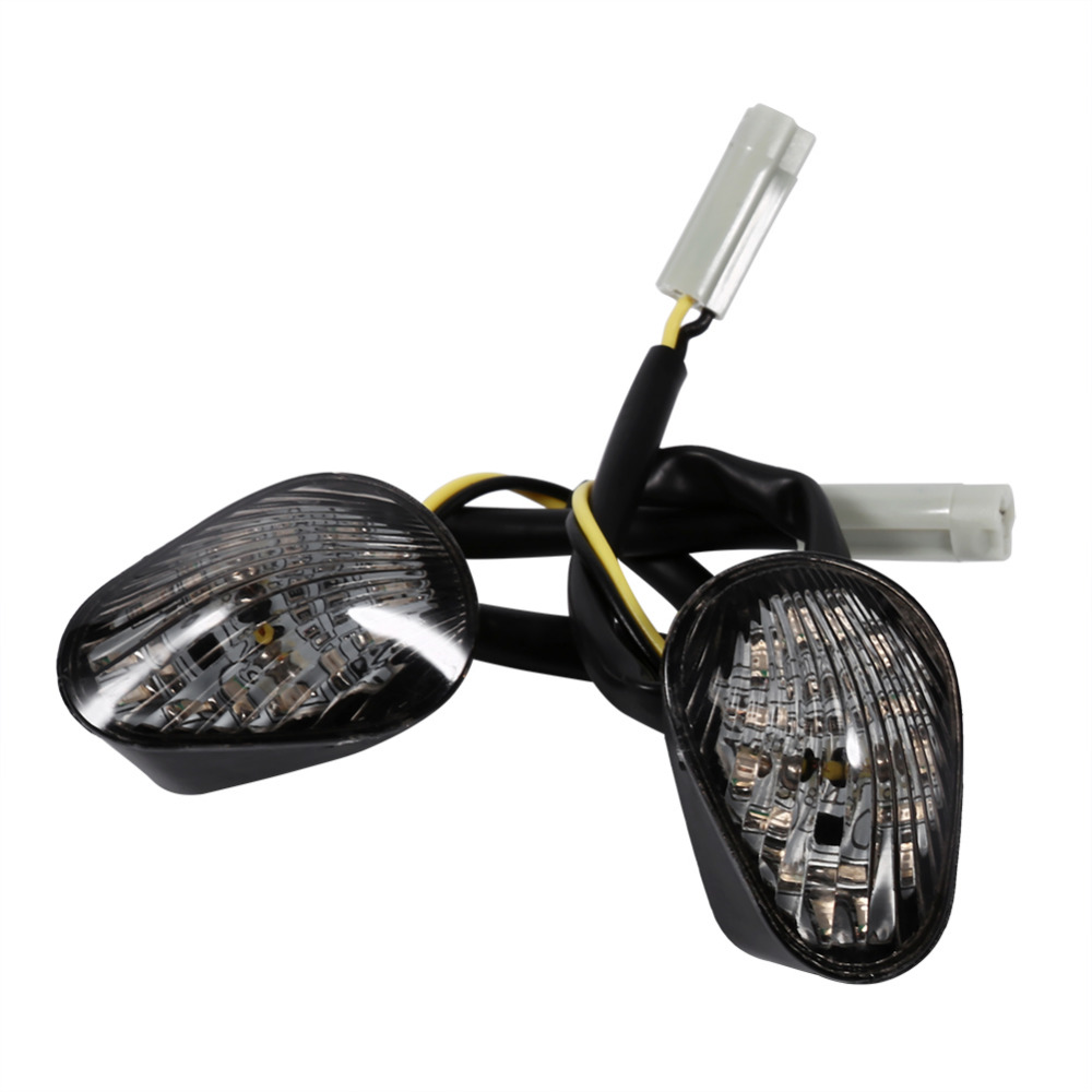 2PCS Universal Motorcycle LED Turn Signal Light Waterproof Amber Led Indicator Blinker Flash Bike Lamp for Yamaha YZF R1 R6 R6S2PCS Universal Motorcycle LED Turn Signal Light Waterproof Amber Led Indicator Blinker Flash Bike Lamp for Yamaha YZF R1 R6 R6S