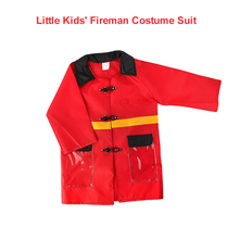 Kids' Fireman Costume Fireman Dress Up Suit Pretend Role Play Firefighter Gifts Provide Educational Thinking Skills for Kids(China)
