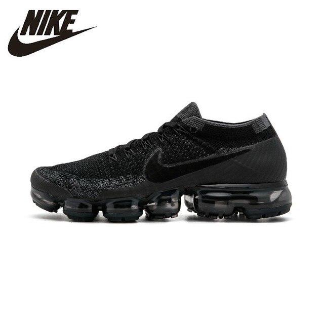 NIKE AIR VAPORMAX FLYKNIT zapatos cómodos para correr hombres zapatillas deportivas transpirables 849558-007