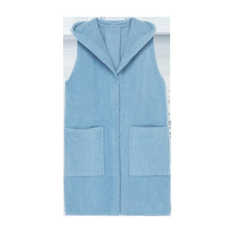 Veste Manteau Couleur Capuche Gilet Lâche Sauvage Hiver Unie Automne À Nouvelle Banlieue Blue 2018 camel Femmes Simple Survêtement white Marque De Ol qwIvXpI