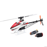 High Speed ALZRC X360 FBL 6CH 3D Flying RC Helicopter Kit With 2525 Motor V4 50A Brushless ESC Standard Combo For Kids Children