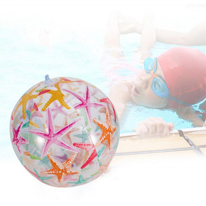 PVC  Inflatable Beach Ball Water Balloons Elastic Float Ball Parent Child Interactive Toys For Adult Children Outdoor Balls