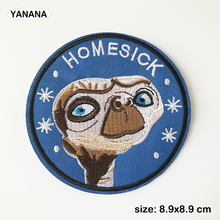 Alien HomeSick Embroidered Iron on clothes badge collection badge все цены