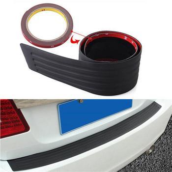 SUV carro Choques Traseiro Sill/Protetor da Placa de Cobertura De Borracha Pad Guarda Moldagem 104*8 cm