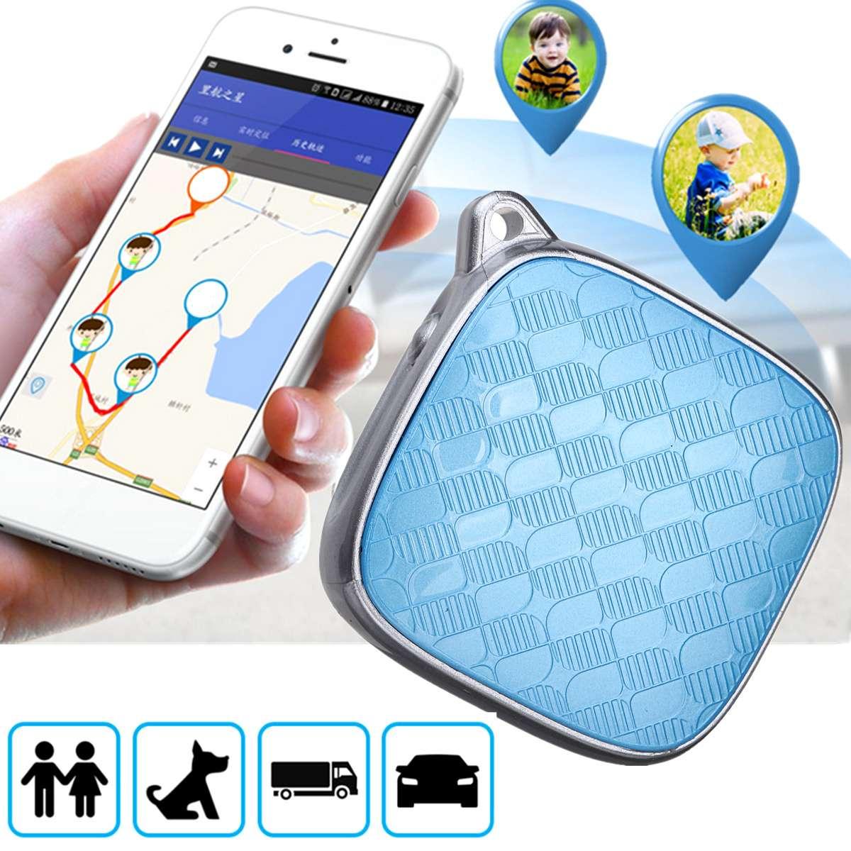 Smart Mini GPS Tracker Elder Anti-Lost Tracker Pet Collar Real Time Locator Kid Cat Dog Waterproof Tracking GPS Device PS115