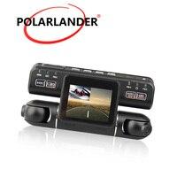 I4000 Car DVR Dual Lens Outside Inside both Recording Left 1080P Right 480P Driving Video Recorder 360 Degree Dash Cam