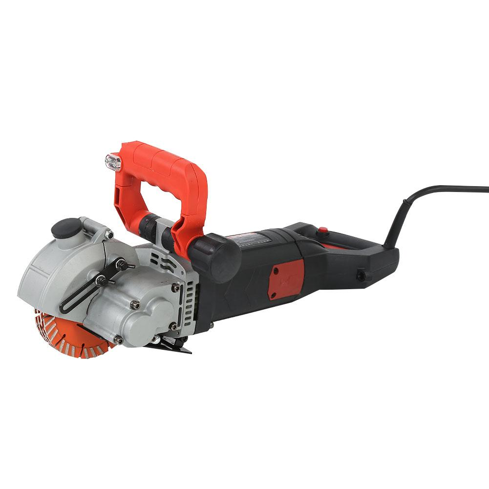 Angle grinder 133mm 4800W Electric Wall Chaser Groove Cutting Machine Wall Slotting Machine amoladora angular UK