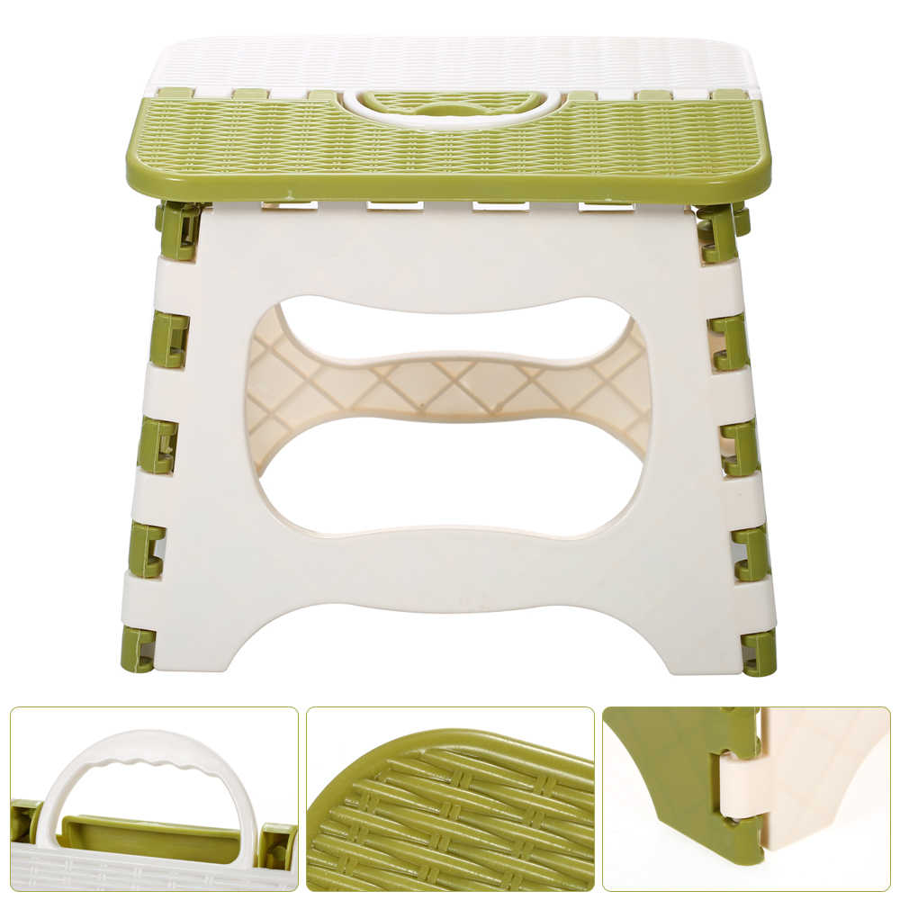 Tamborete de Dobramento plástico Cadeira Dobrável Portátil Pequena Cadeira Para Crianças Mobiliário Móveis Para Casa Criança Fezes de Jantar Conveniente
