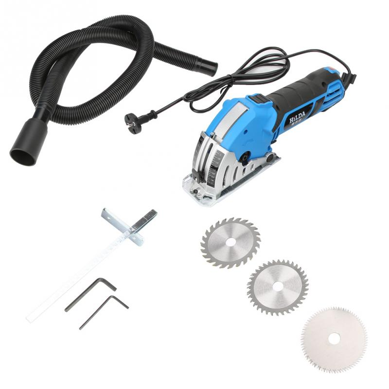 US $92 37 38% OFF|550W Portable Electrical Saw DIY Multifunctional Mini  Electric Circular Saw Kit Power Tools testere Hot Sale-in Electric Saws  from
