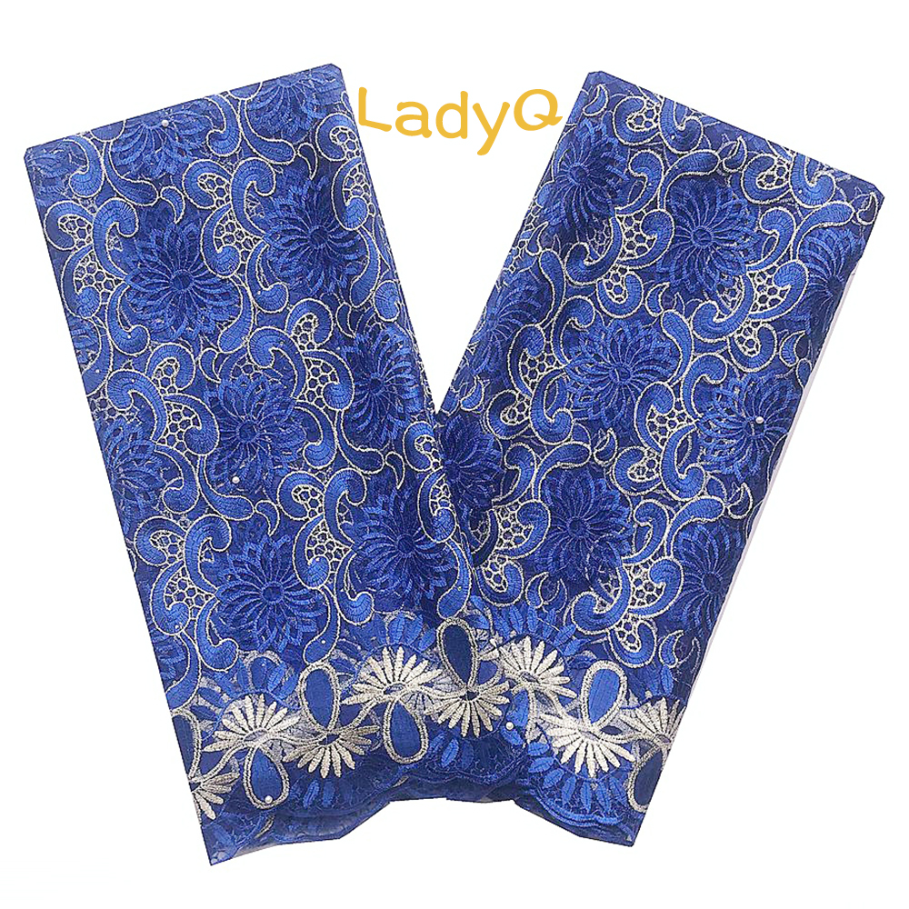 Indian Lace Material Latest African Cord Lace Fabric 2019 Royal Blue Baby Pink African Lace Aso Ebi Wedding Lilac Lace Fabric