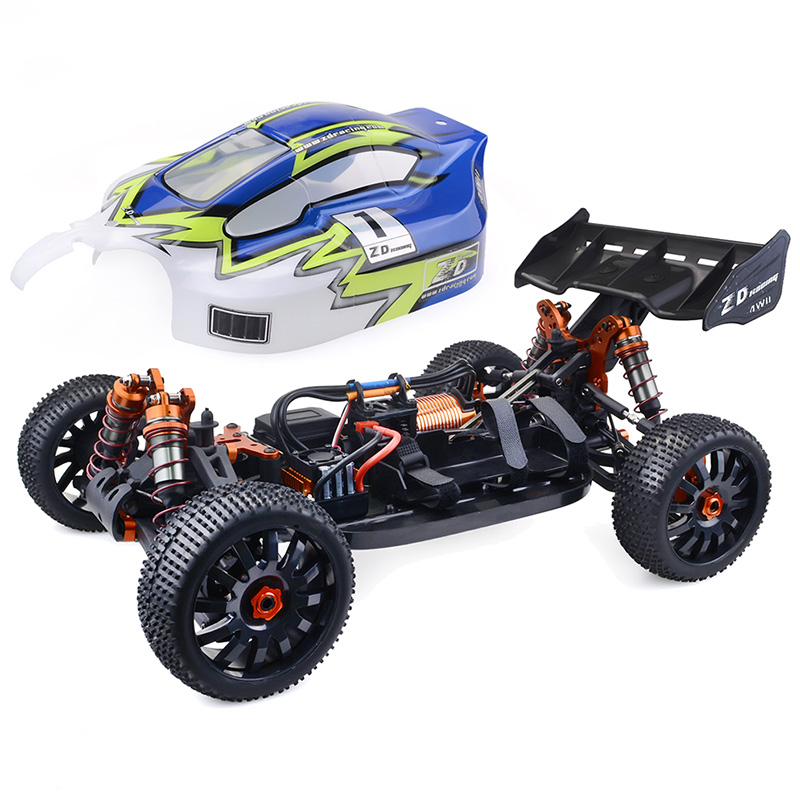 1/8 Échelle 2.4 GHz Sans Fil Télécommande RC Voiture 112 km/h 4WD Brushless Buggy 120A ESC 4274 Moteur Brushless RC racing Drift Voiture