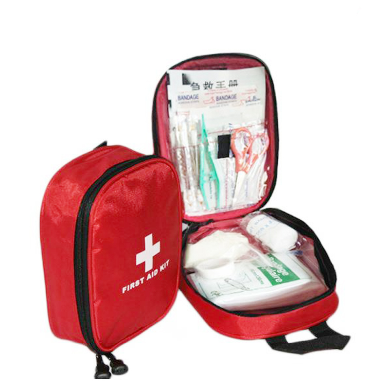 38pcs/lot First Aid Emergency Kit Outdoor Canvas Waterproof  For Family Camping Travel Emergency Medical Treatment DJB011