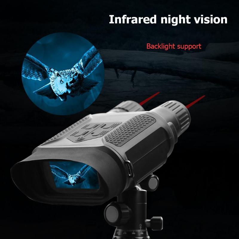 USB AV/TV Infrared Night Vision Photo Video 3X Double Lens Binocular Telescope Support 32GB Memory Card Binoculars Newest
