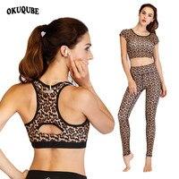 Women Yoga Set Print Sport Suit 3 Pieces Sportswear Woman Gym Clothing Pocket Workout Clothes Suit For Fitness Women Active Wear