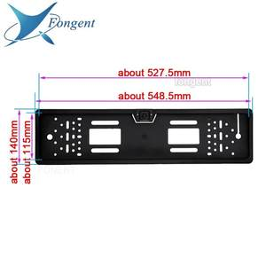 Wireless Camera Monitor License-Plate-Frame Vehicle Car-Number Parking Back-Off-Up Rear-View