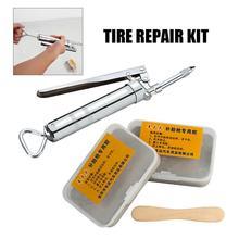 цены на 2nd Generation Car Tire Repair Kit Inner Tire Rubber Strip Emergency Vacuum Tire Fast Repair Tool Auto Car Repair Accessories  в интернет-магазинах
