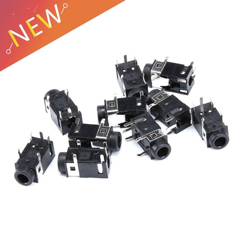 10 шт./лот PJ322 3,5 мм Женский аудио разъем 5 Pin SMT разъем для наушников PJ-322 печатная плата крепление стерео разъем