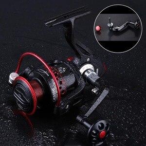 Image 3 - Spinning Fishing Reel 13 Ball Bearings Fishing Reels Spinning wheel 5.2:1 Freshwater Spinning Fishing Reel 2000 7000 Series