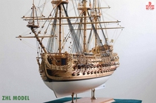 ZHL model San Felipe 1690 model ship wood(China)