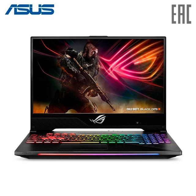 "Ноутбук ASUS ROG GL504GS Intel i7 8750H/32Gb/1Tb+512Gb SSD/15.6"" FHD Anti-Glare IPS/NVIDIA GeForce GTX1070 8Gb GDDR5/Wi-Fi/Windows 10/Gunmetal (90NR00L1-M03210)"