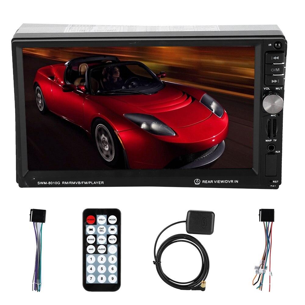 7 auto Stereo 2 Din Radio Multimedia Gps Navigation Mp5 Player Bluetooth//tf/usb Tragbares Audio & Video Fernbedienung Für Verkauf Unterhaltungselektronik