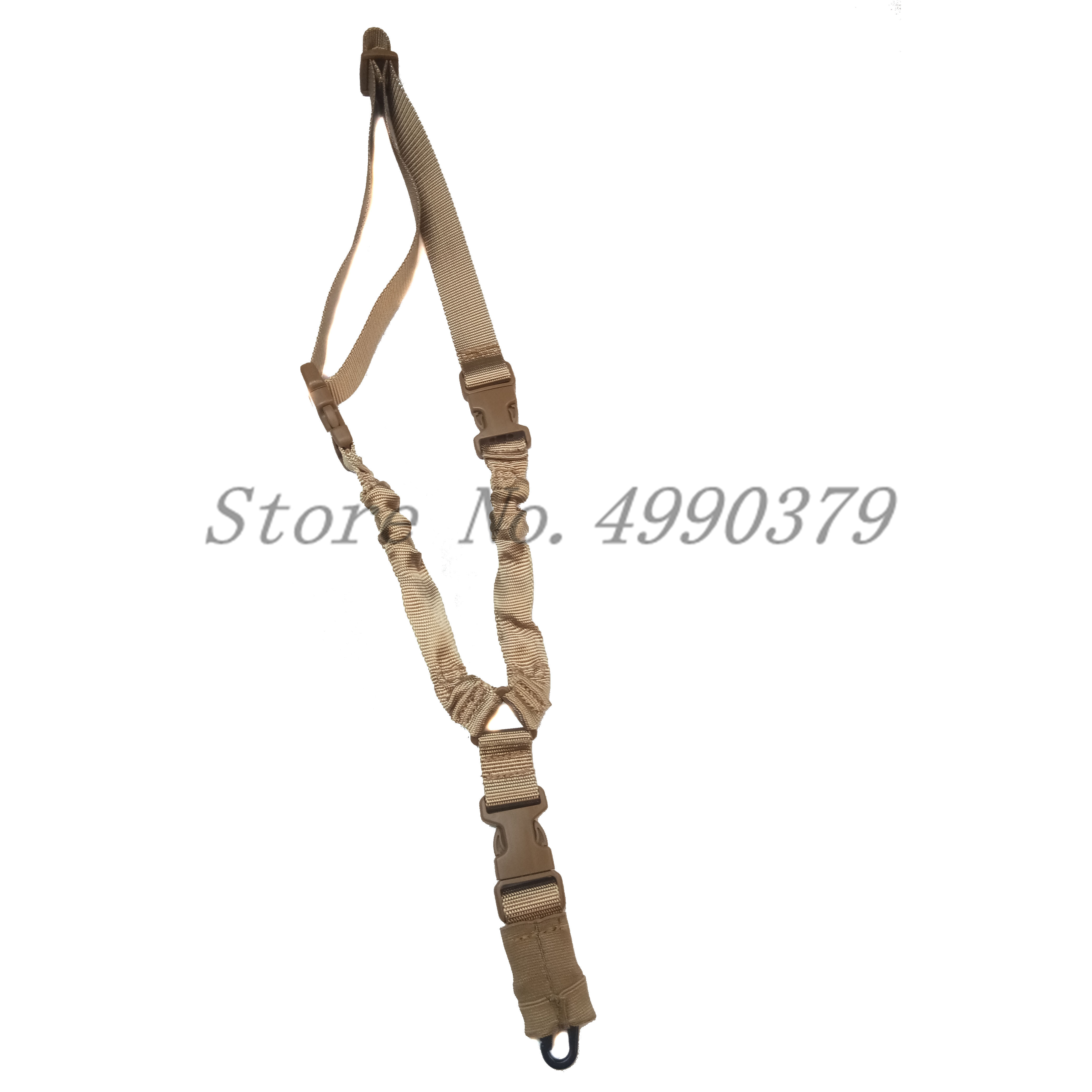 Image 2 - Tactical One PoiRifle Gun Sling Strap System Hunting Adjustable Nylon Single Point Rifle Strap Free Shipping-in Hunting Gun Accessories from Sports & Entertainment