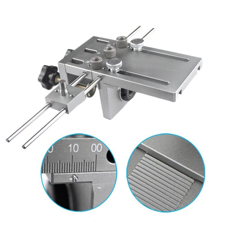 Neue Dowelling Jig für Möbel Schnelle Anschluss Cam Fitting 3 In 1 Holzbearbeitung Drill Guide Kit Locator 1 satz
