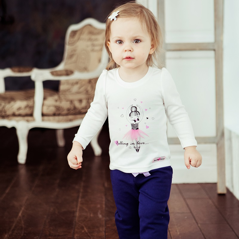 Hoodies &  Sweatshirt Lucky Child for girls 54-16 Kids Children clothes Jersey Blouse blouse 1205641 54