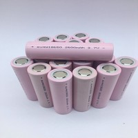 Suqy 100% Inr18650 26r Li Ion 18650 2600mAh Battery 3.7v Li Ion Rechargeable Batteries Rechargeable Batteries bateria 12 40 pcs