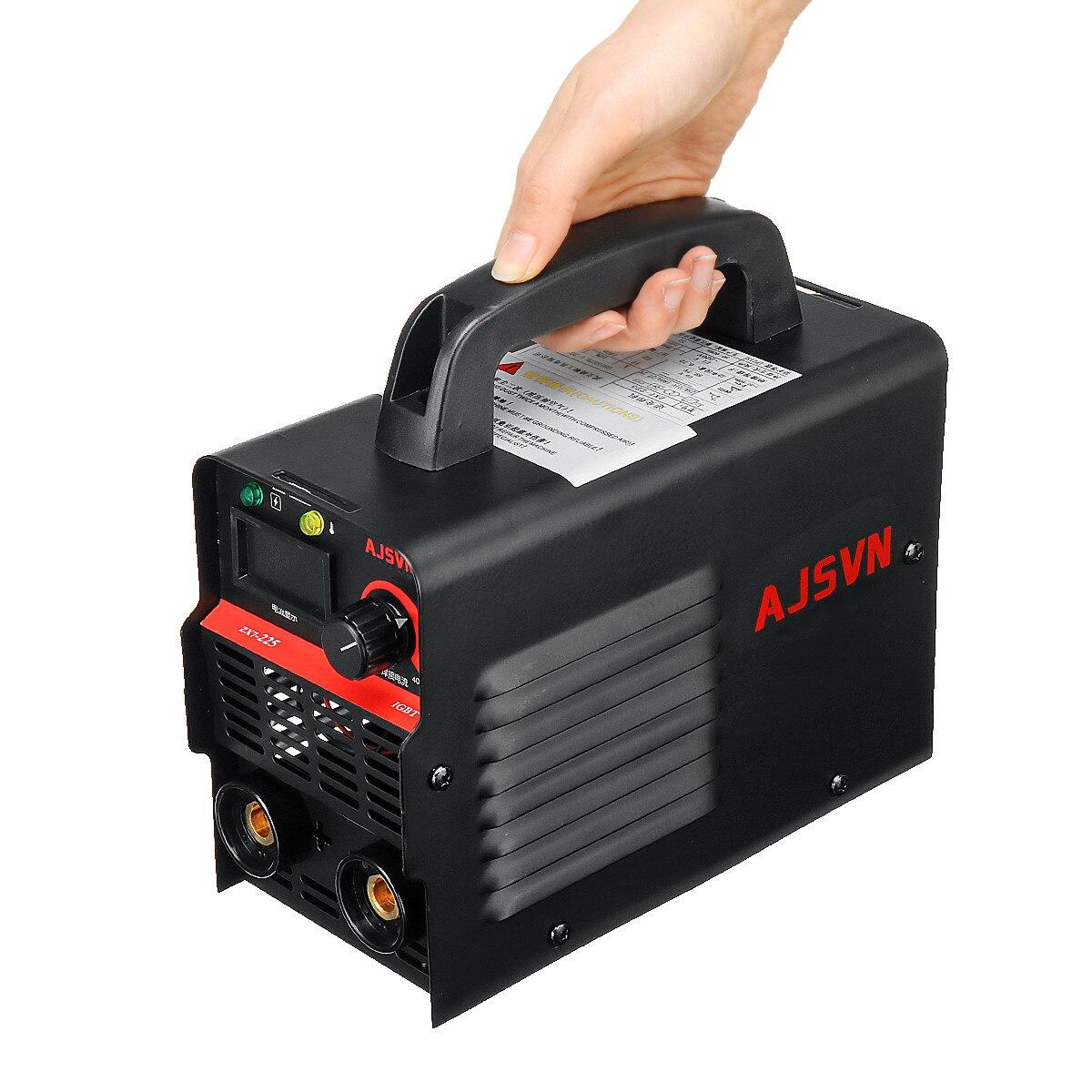 220V Einstellbare 20A-225A 4200W Handheld IGBT Inverter Arc schweißen maschine Digital Display Mini Tragbare Schweiß Werkzeug