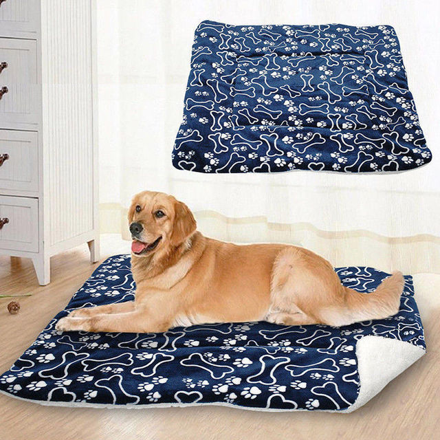 Pet Large Dog Blanket Bed Washable House Puppy Cushion Large Dog Cage Mat Mattress Kennel Soft Crate Multifunction Mat 2