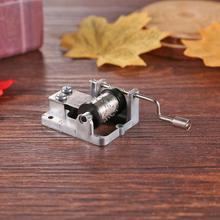 DIY различные тона механическая музыкальная шкатулка движение игровой набор рукоятки шкатулки декоративные образовательные инструменты коллекционные вещи