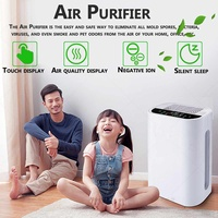 Air Purifier True HEPA Filter Remove Sterilizer Ozone Formaldehyde cleaning PM2.5 Household Large Profession Air Cleaner Ionizer