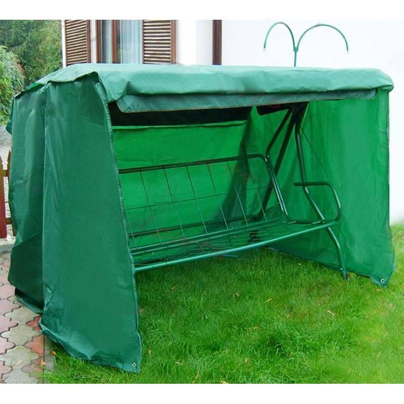220x150x143 cm Polyester balançoire siège couverture extérieur jardin AntiUV étanche balançoire protecteur meubles étui anti-poussière vert Durable