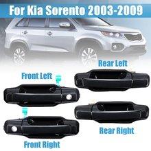 LHD ABS Внешний Дверные ручки для Kia Sorento 2003 2004 2005 2006 2007 2008 2009 OEM 82650-3E010 наружные дверные ручки